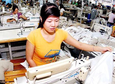 Xuất khẩu dệt may năm 2015: Triển vọng tăng trưởng tốt